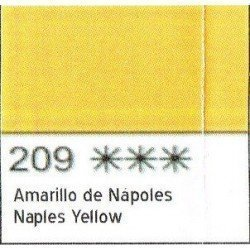 ACUARELA WHITE NIGHTS AMARILLO NAPOLES SAN PETERSBURGO