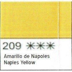 ACUARELA WHITE NIGHTS AMARILLO NAPOLES SAN PETERSBURGO