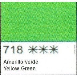 ACUARELA WHITE NIGHTS AMARILLO VERDE SAN PETERSBURGO