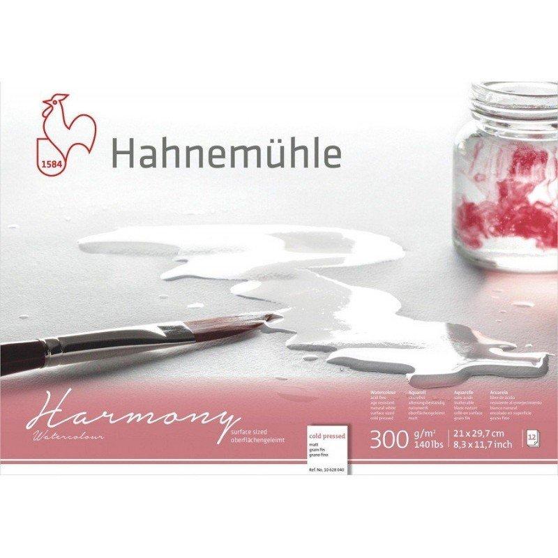 BLOC ACUARELA HAHNEMÜHLE HARMONY A4 300 G GF
