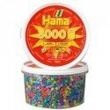 HAMA MIDI MIX 50 (PASTEL) 3000 PIEZAS EN BOTE