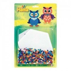 BLISTER 1100 BEADS + PLACA HEXAGONAL GRANDE