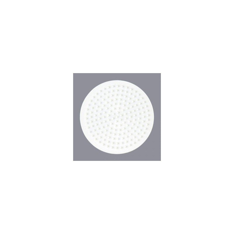 PLACA / PEGBOARD CIRCULAR PEQUEÑA PARA HAMA MIDI