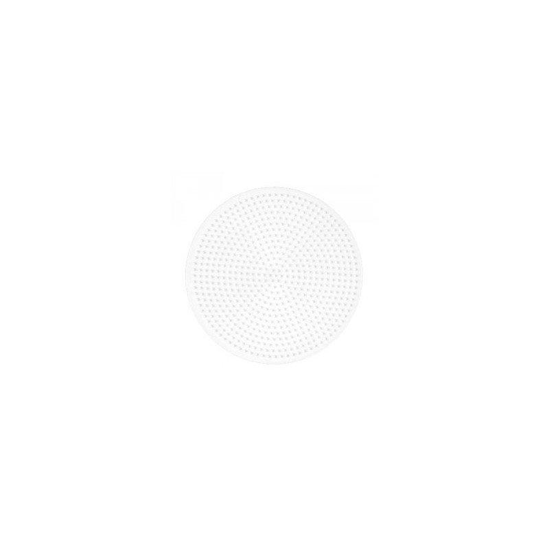 PLACA / PEGBOARD CIRCULAR GRANDE PARA HAMA MIDI