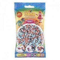 HAMA MIDI MIX 91 (3 BICOLOR) 1000 PIEZAS